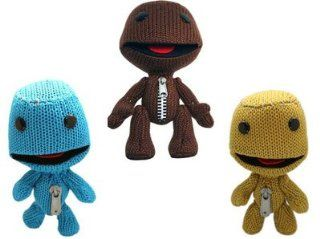 Little Big Planet Character Blue/yellow/coffee Plush Doll Toys Set of 3pcs Toys & Games