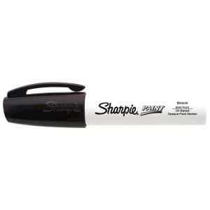 Sharpie Black Bold Point Oil Based Paint Marker 35241PP