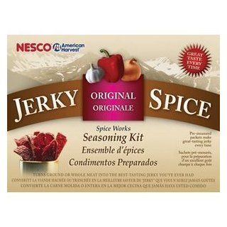 Nesco BJ 18 Jerky Spice Works, Original Flavor, 18 Pack, Garden, Lawn, Maintenance  Lawn And Garden Chippers  Patio, Lawn & Garden