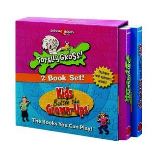 Spinner Books For Kids   2 Vol. Slipcase Edition (Totally Gross & Kids Battle The Grown Ups) University Games 9781575289717 Books