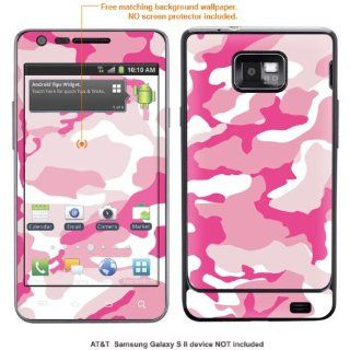 InvisibleDefenders Protective Decal Skin STICKER for Samsung Galaxy S II (AT&T U.S. version) case cover TgalaxysII 577 Cell Phones & Accessories