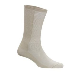 Doctor Specified Unisex Medical Grade Light Crew Socks, Pair Shoes