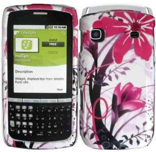 Pink Splash Hard Case Cover for Samsung Replenish M580 Cell Phones & Accessories