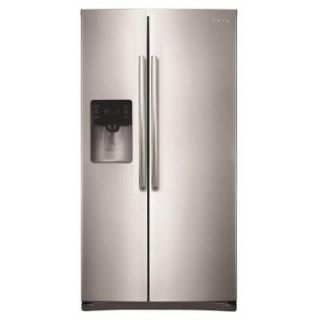 Samsung 24.5 cu. ft. Side by Side Refrigerator in Stainless Steel RS25H5111SR