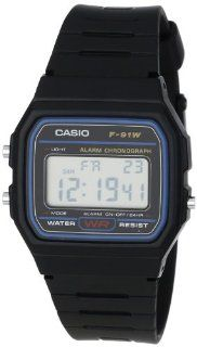 Casio F91W 1 Classic Resin Strap Digital Sport Watch at  Men's Watch store.