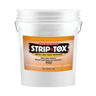 Strip Tox 5 Gal. Safe Lead Paint Remover DISCONTINUED 669G5