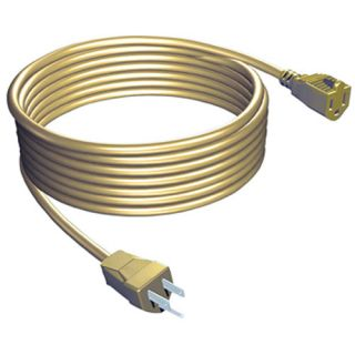Stanley 40 Outdoor Extension Cord, Light Beige Electrical