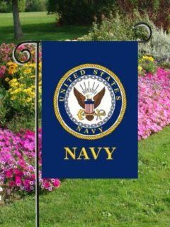 NAVY   United States Navy   Standard Size 28 Inch X 40 Inch Decorative Flag  Outdoor Decorative Flags  Patio, Lawn & Garden