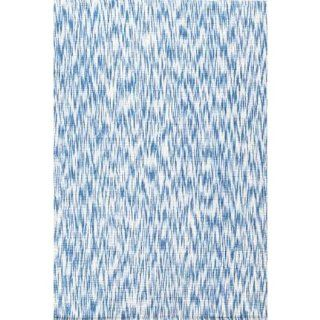 Dash & Albert Ikat Blue 9x12 ft Rug   Area Rugs