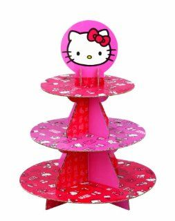 Wilton Hello Kitty Paper Cupcake Stand, Holds 24 Cupcakes Kitchen & Dining