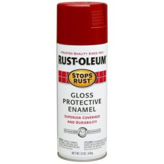 Rust Oleum Stops Rust 12 oz. Protective Enamels Gloss Regal Red Spray Paint (6 Pack) 7765830