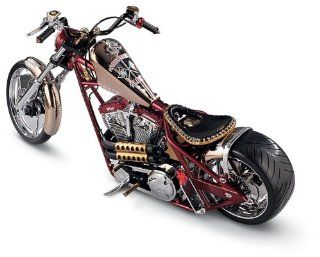 West Coast Choppers 15 Scale Chopper Sports & Outdoors