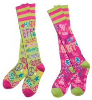 BFF Best Friends Forever Mix & Match Knee Socks Clothing