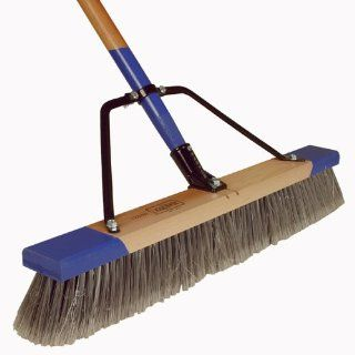 Harper Brush Works 24 Inch Heavy Duty Indoor Pushbroom 552224A (Discontinued by Manufacturer)  Push Brooms  Patio, Lawn & Garden
