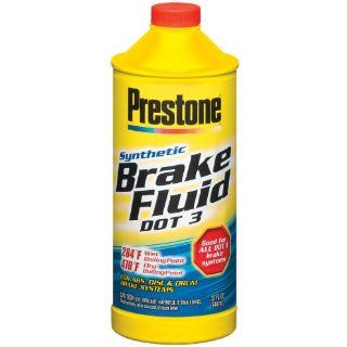 Prestone AS601P Super Heavy Duty Brake Fluid   32 oz. Automotive