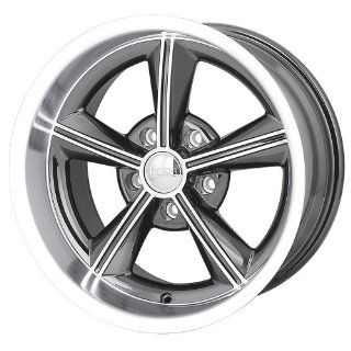 "Ion Alloy 625 Grey Wheel with Machined Lip (20x8.5""/5x120.65mm) Automotive"