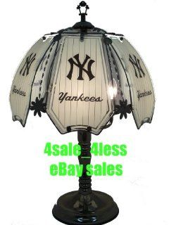 "NEW MLB New York Yankees 24"" 6 Panel Touch Lamp NIB  NR 632C NYY   Table Lamps"