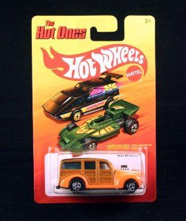 '40s WOODIE (ORANGE) * The Hot Ones * 2011 Release of the 80's Classic Vintage HOT WHEELS Toys & Games