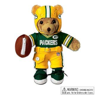 The Green Bay Packers Coaching Teddy Bear Educational Huggable Plush Toy For Age 3 And Up by Ashton Drake Toys & Games
