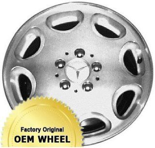 MERCEDES E300D,E320,E420,E430,E CLASS 16X7.5 8 HOLE Factory Oem Wheel Rim  MACHINED FACE SILVER   Remanufactured Automotive