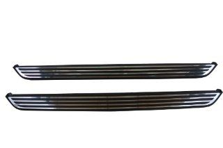 Genuine Jeep Accessories (82212685AB) Black Molded Running Board with Chrome Accent Automotive