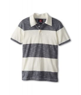 Quiksilver Kids On Point Polo Boys Short Sleeve Pullover (White)
