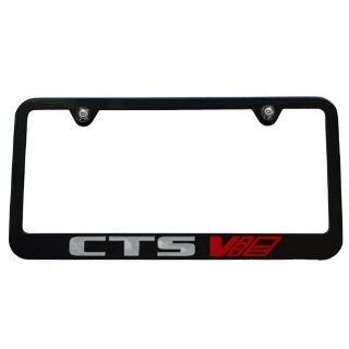 Cadillac CTS V Black License Plate Frame Automotive