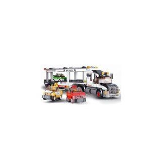 SLUBAN CITY SCENE TRUCK 638 PIECE SET LEGO COMPATIBLE Toys & Games