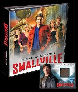 Smallville Seasons 7 10 Trading Cards Binder (Cryptozoic) Toys & Games