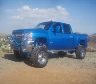 2007 2010 Chevy   GMC 2500/3500 Crew Cab N Fab Polished Stainless Steel Nerf Step Automotive