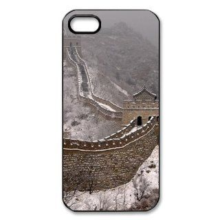The Great Wall of China iPhone 5 Case Hard Plastic iPhone 5 Case Cell Phones & Accessories
