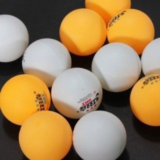 Outdoor Sports 3 Stars Training Balls Ping Pong Ball 6PCS