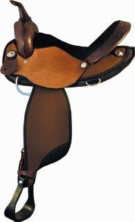Tex Tan Mesquite Barrel Racer Saddle