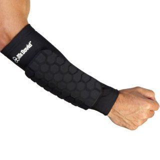 651R MCDAVID HexTM Forearm Sleeves   Black XL  Football Hand And Arm Pads  Sports & Outdoors