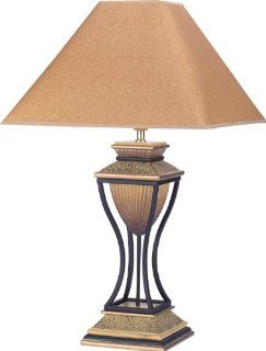 H.p.p 32''h Deluxe Antique Table Lamp  Bronze   Floor Lamp With Reading Light Bronze