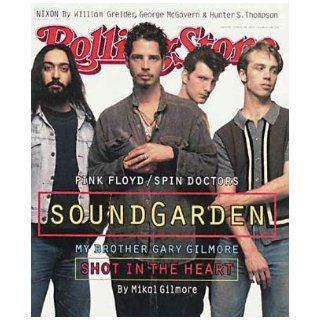 Rolling Stone Magazine, Issue 684, June 1994, Soundgarden Cover Jann S Wenner Books