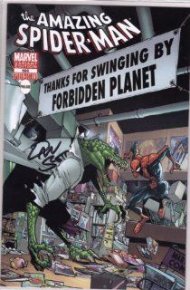 THE AMAZING SPIDER MAN #666 FORBIDDEN PLANET UK EXCLUSIVE VARIANT SIGNED
