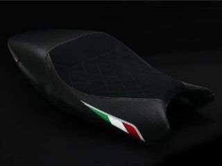 Ducati Monster 696 796 1100 08 13 Luimoto Suede Diamond Quilt Seat Cover Set Automotive
