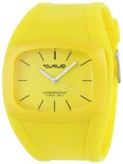 Wave Gear Women's WG DR YL Yellow Drift Colorful Silicone Yellow Sports Watch Watches