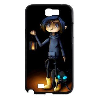 Designyourown Case Coraline and Wyibe Samsung Galaxy Note 2 Case Samsung Galaxy Note 2 N7100 Cover Case SKUnote2 673 Cell Phones & Accessories