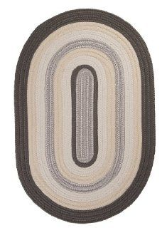 Colonial Mills Brooklyn Gray Oval 10 Ft. x 13 Ft. Oval Indoor/Outdoor Rug   Area Rug Accessories