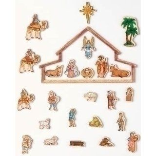 Fontanini 26 Pc Set Magnet Advent Calendar * Nativity Village Collectible 65402 Toys & Games