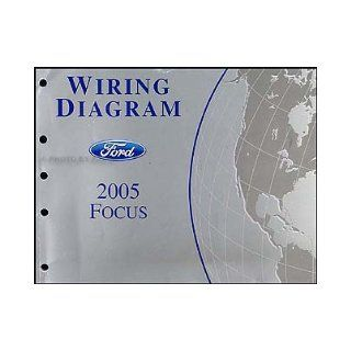 2005 Ford Focus Wiring Diagram Manual Original Ford Books