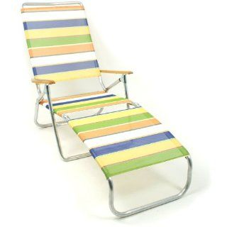 Telescope 821 Multi Position Folding Chaise Lounge Beach Chairs   690 Parfait  Patio Lounge Chairs  Patio, Lawn & Garden