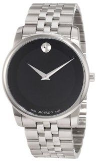 "Movado Men's 0606504 ""Museum"" Stainless Steel Watch Watches"