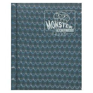 Monster Binder   2 Pocket Trading Card Album   Holofoil Silver (Anti theft Pockets Hold 64+ Yugioh, Pokemon, Magic the Gathering Cards) Toys & Games