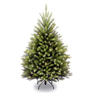 National Tree Co. Dunhill Fir 4 6 Green Artificial Christmas Tree