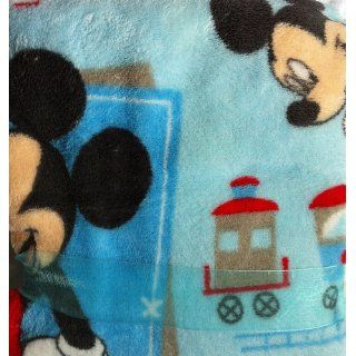 Disney Mickey Mouse Baby Blanket Fleece  Toddler Blankets  Baby