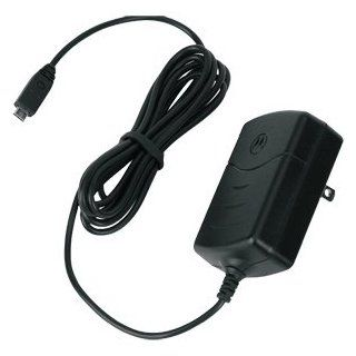 New Motorola Micro USB Folding Prong Charger Factory Original 110 120 Volt AC Rapid Battery Charger  Players & Accessories