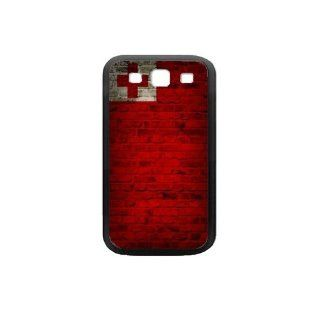 Tonga Flag Samsung Galaxy S3 Black Case Brick Wall Design Cell Phones & Accessories